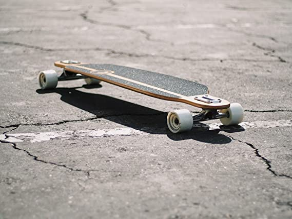 Surf/'s up Yocaher Drop Down Longboard Deck