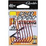 がまかつ(Gamakatsu) タチウオ針 ケン付タチウオ ストロング 1/0号 7本 赤 68363