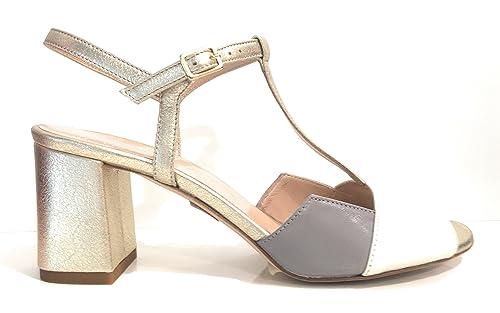 Sandalo Le Tc Panna Donna Scarpe Platino Taupe Artigian Trallerine PPptw4qa