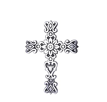 Amazon.com: Sammsara crosses wall décor Western Hanging Cross Wall ...