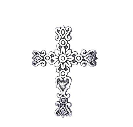 Amazon.com: Sammsara crosses wall décor Western Hanging Cross Wall ...