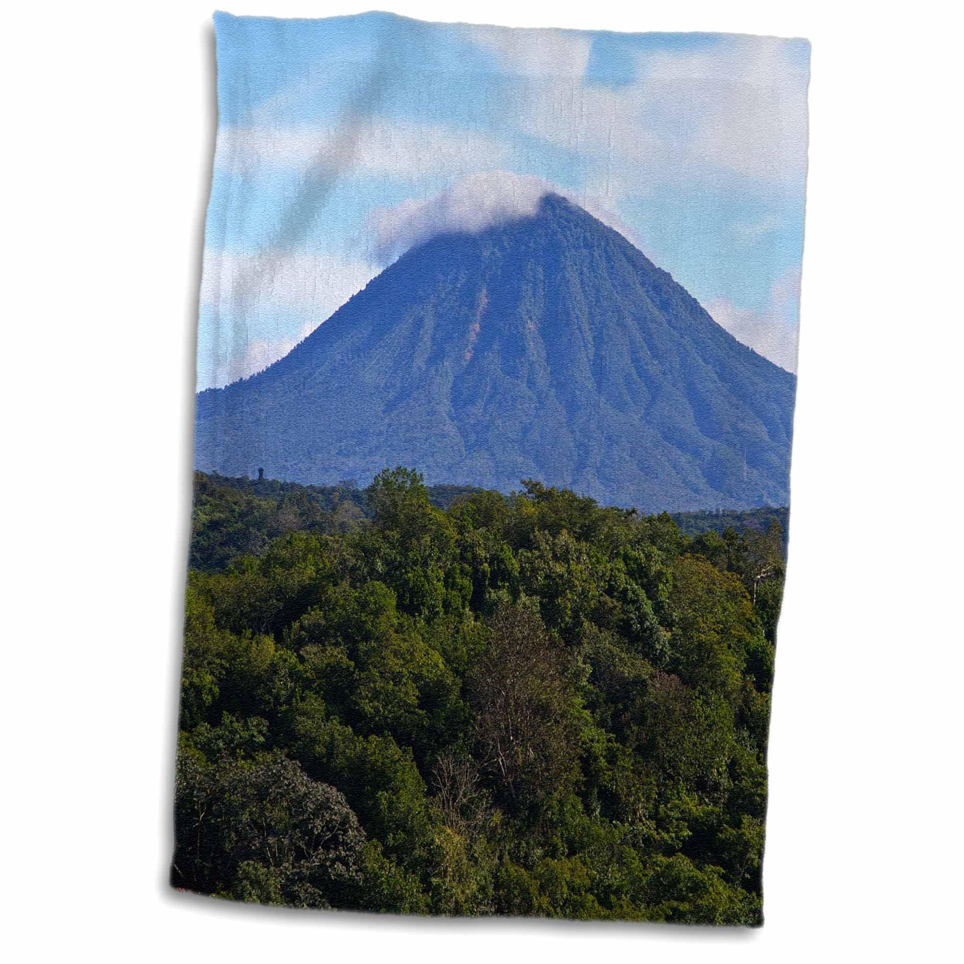 3D Rose El Salvador Central America. TWL_187729_1 Towel, 15'' x 22''