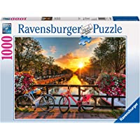 Ravensburger 19606 Bicycles in Amsterdam Puzzle 1000pc,Adult Puzzles