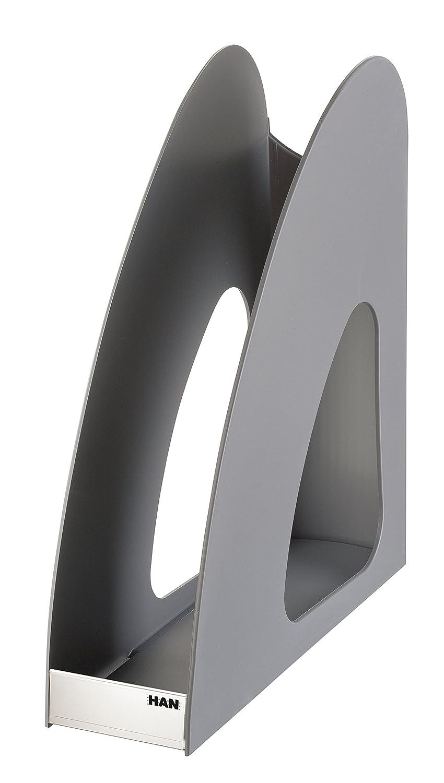 bianco grigio scuro confezione da pezzi giovane Design innovativo Portariviste Loop Han 16210/ stabile e variabile /12
