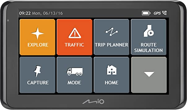 Mio Spiri T8670 Truck Gps Eu Lifetime Navigation