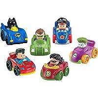Fisher-Price Little People DC Super Friends Wheelies Giftset