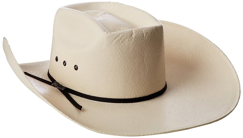 4ef3fce55568f Tony Lama Men s Vegas - Shantung Straw Cowboy Hat  Amazon.in  Clothing    Accessories