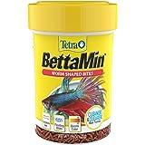 Tetra BettaMin Worm Shaped Bites 0.98 Ounce, Complete Diet For Bettas