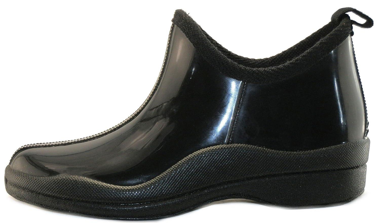 Retro Boots, Granny Boots, 70s Boots  Short Rain Boots Prints & Solids $22.99 AT vintagedancer.com