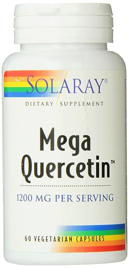 Mega Quercetin 600Mg 60 Capsulas Solaray