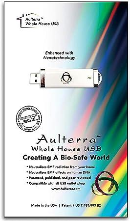 Aulterra EMF Protección para el hogar Anti Radiación USB para toda la casa Protección para neutralizar las frecuencias EMF perjudiciales e incoherentes incluyendo 5G: Amazon.es: Electrónica