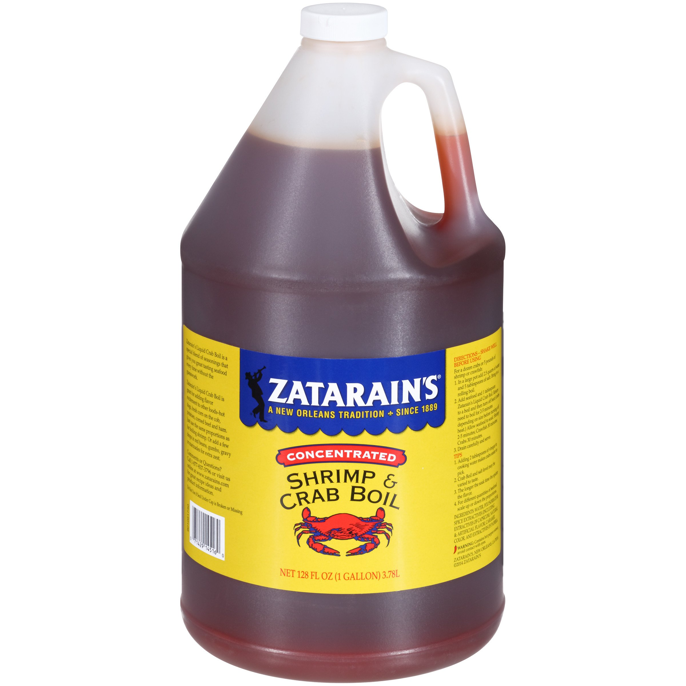 Zatarain's New Orleans Style Crawfish, Shrimp & Crab Boil, 128 fl oz