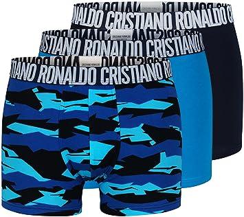new style 8b0fd 9e132 CR7 Cristiano Ronaldo - Basic - Retro- Boxershorts für Herren mit All-Over