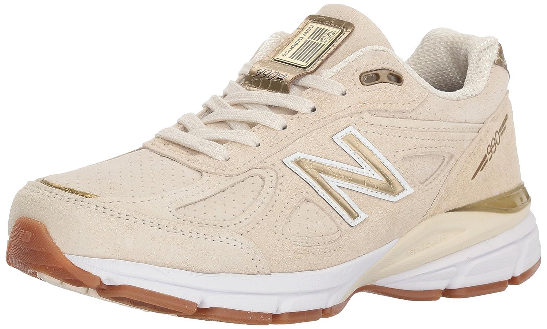 New Balance Women's 990v4 Running Shoe B072MFLYYY 11 B(M) US|Angora/Angora