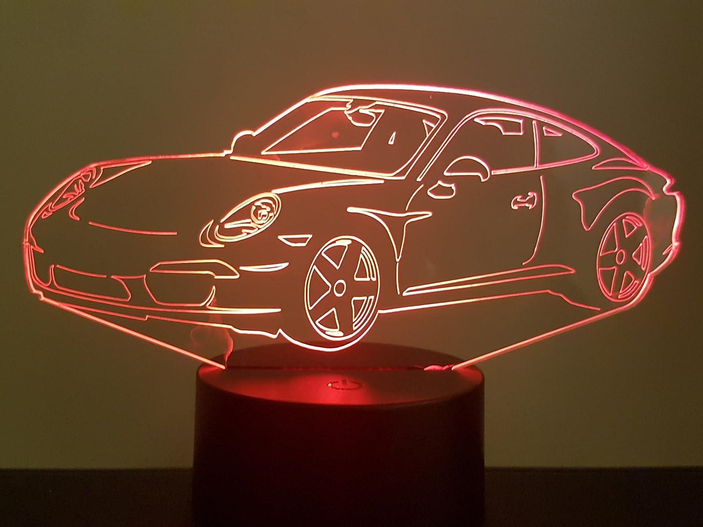 3D-LAMPE PORSCHE 911-991 getrennt