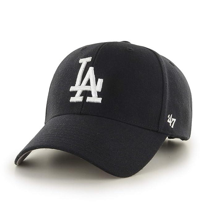 3e283492719 Amazon.com  47 MVP La Dodgers Mens Cap Black  Clothing