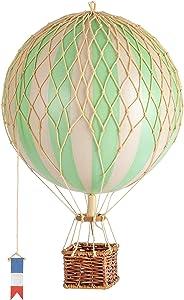 Authentic Models, Travels Light Air Balloon, Hot Air Balloon Replica, True Green