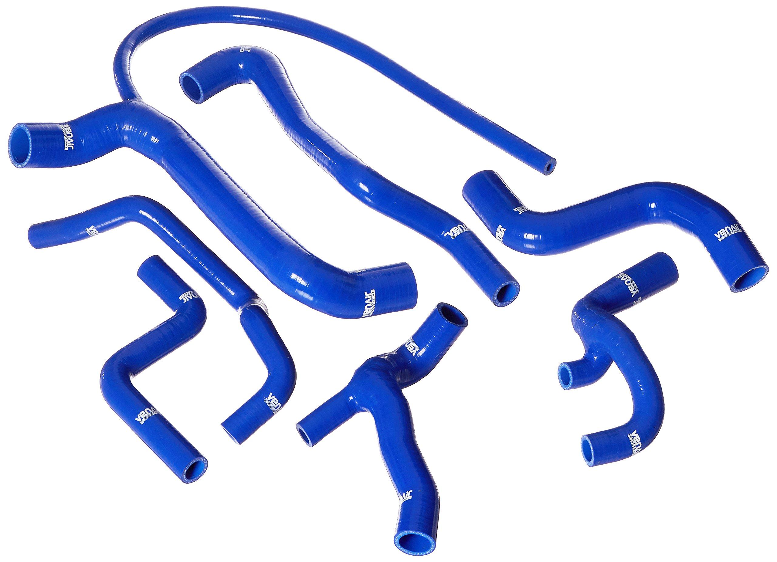 Venair (600001110818-BL) 7-Piece Coolant Silicone Hose Set, Blue by Venair Inc. (Image #1)