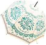 Kung Fu Smith Vintage Bubble Dome Parasol Umbrella for Sun &