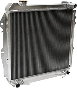 Primecooling 56MM 3 Row Core Aluminum Radiator for Toyota 4Runner Pickup SR5 DLX, 3.0L V6 Engine 1988-95