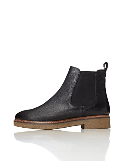 1bca95e6268ce Amazon Brand - find. Women's Chunky Gumsole Chelsea Boots