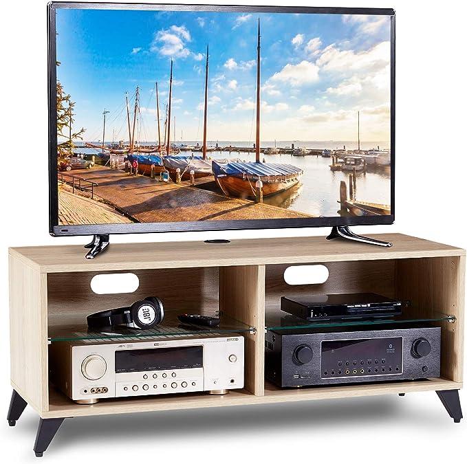 RFIVER Mueble TV Mesa para Televisión de Madera para Salon ...
