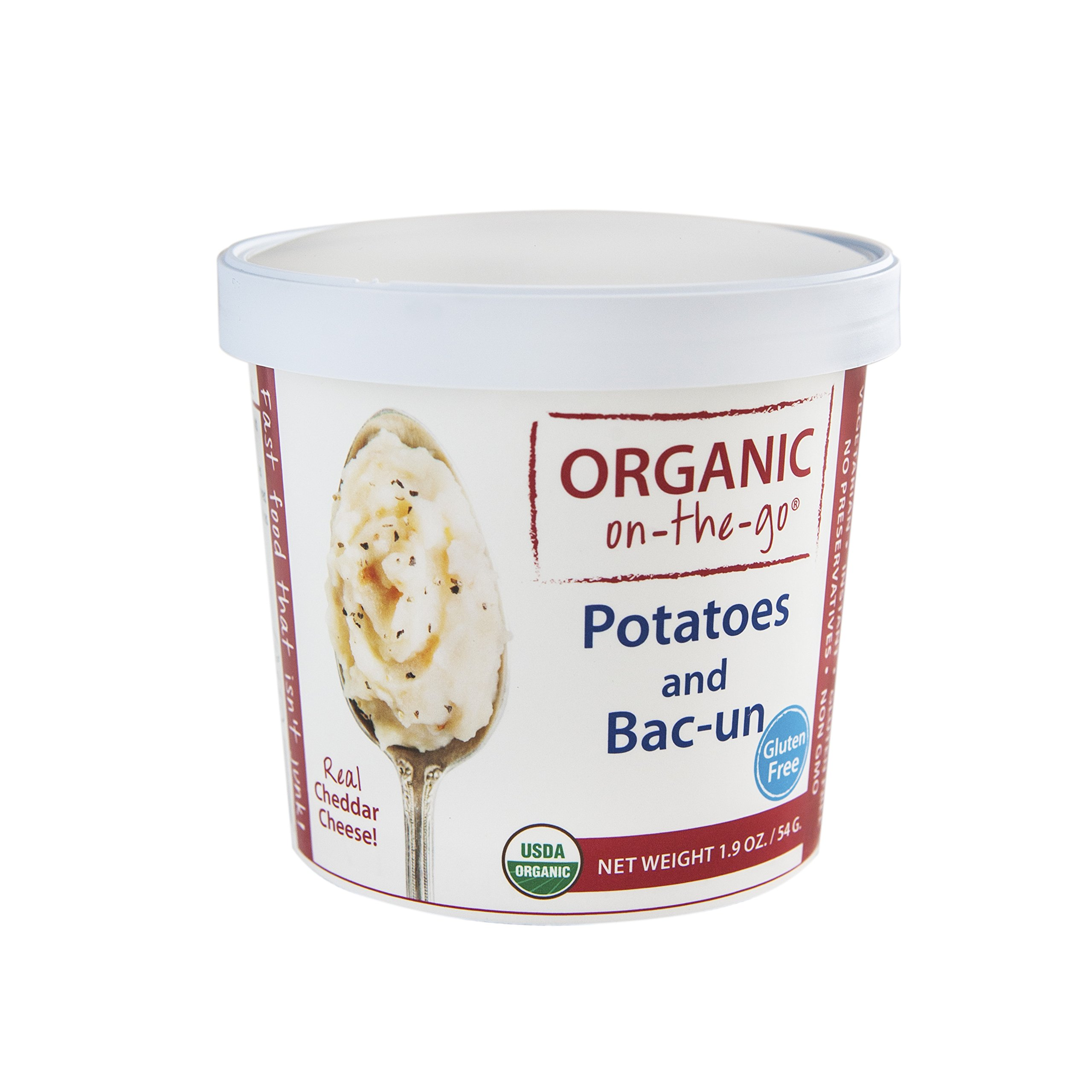 Organic on-the-go Potatoes and Bacon, 1.9 Ounce