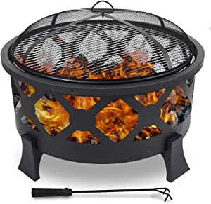 CharaVector Outdoor fire Pit,32