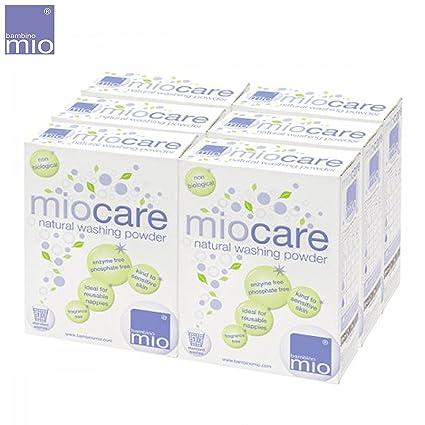 Bambino Mio - miocare lavandería/Detergente Set (6 x 800 g ...