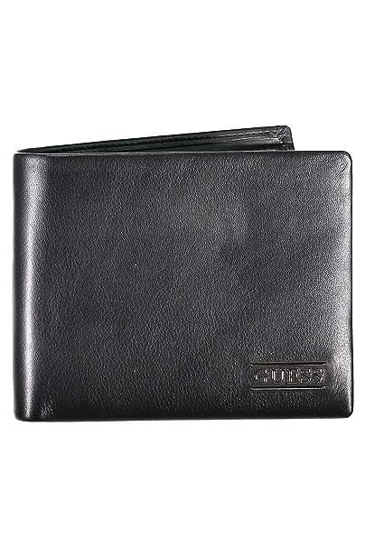 GUESS New Boston Billfold Coin Wallet Black: Amazon.es: Zapatos y complementos