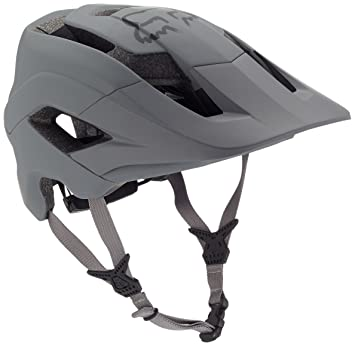 FOX Metah Solids Casco de Bicicleta, Hombre, Gris, Large/Extra ...