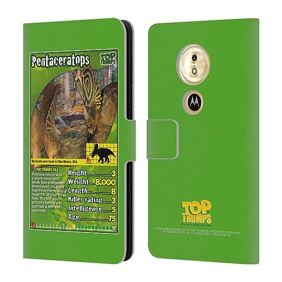 Amazon com: Official Top Trumps Pentaceratops Dinosaurs