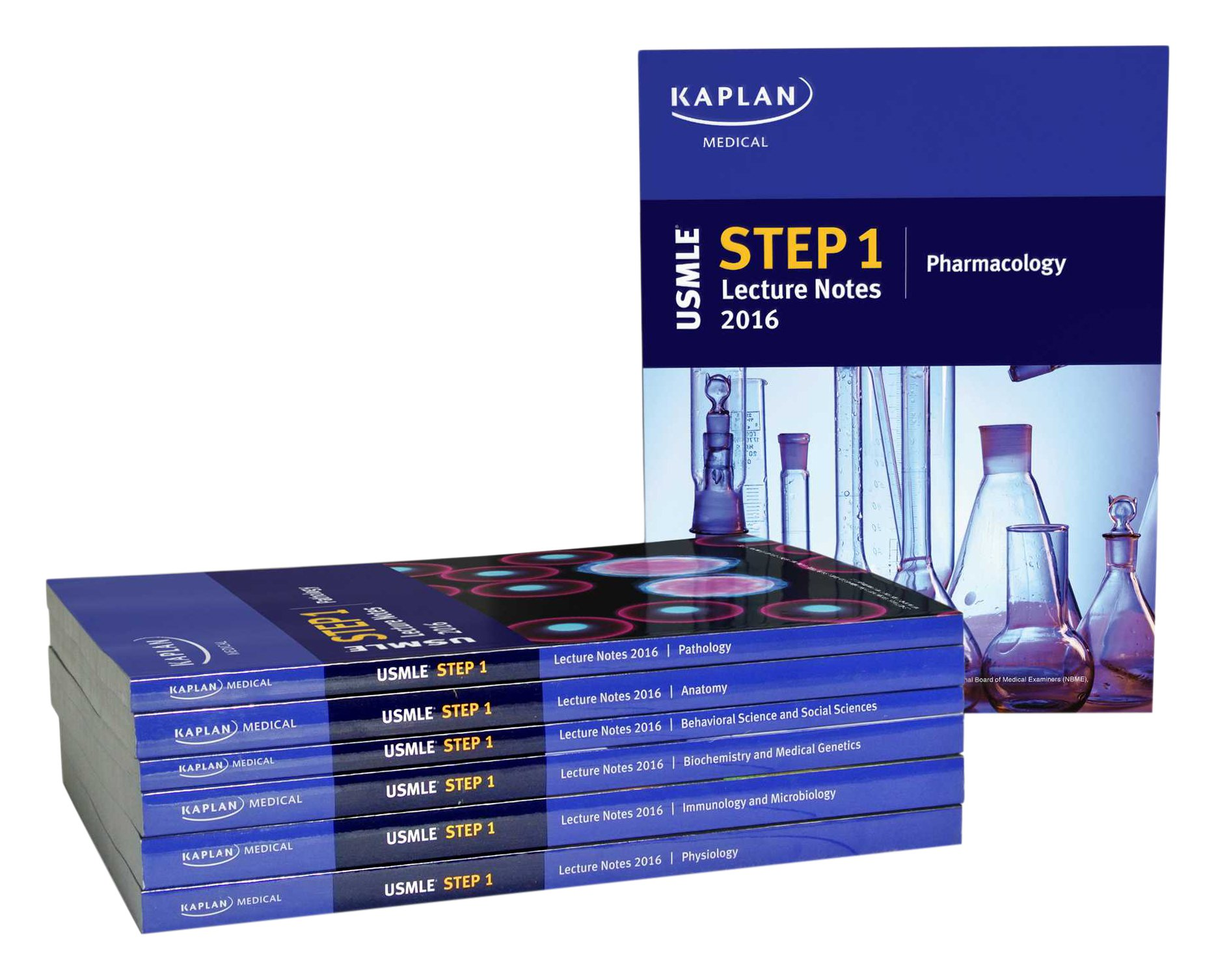 USMLE Step 1 Lecture Notes 2016: 7-Book Set (Kaplan Test Prep ...