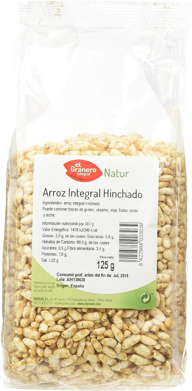 ARROZ INTEGRAL HINCHADO 125 gr: Amazon.es: Salud y cuidado ...