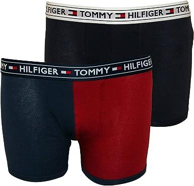 Tommy Hilfiger Boys 2 pack Modern Stripe Trunk Grey Heather