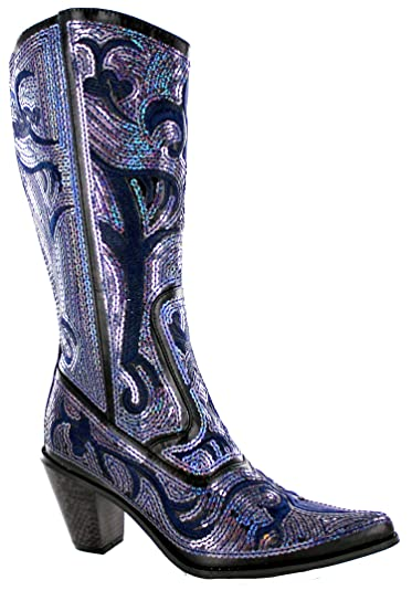 Check Out These Major Deals on BLING Glitter Boots Black