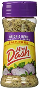 Mrs. Dash Onion & Herb All Natural Seasoning Blend 2.5 Oz - Pack of 2