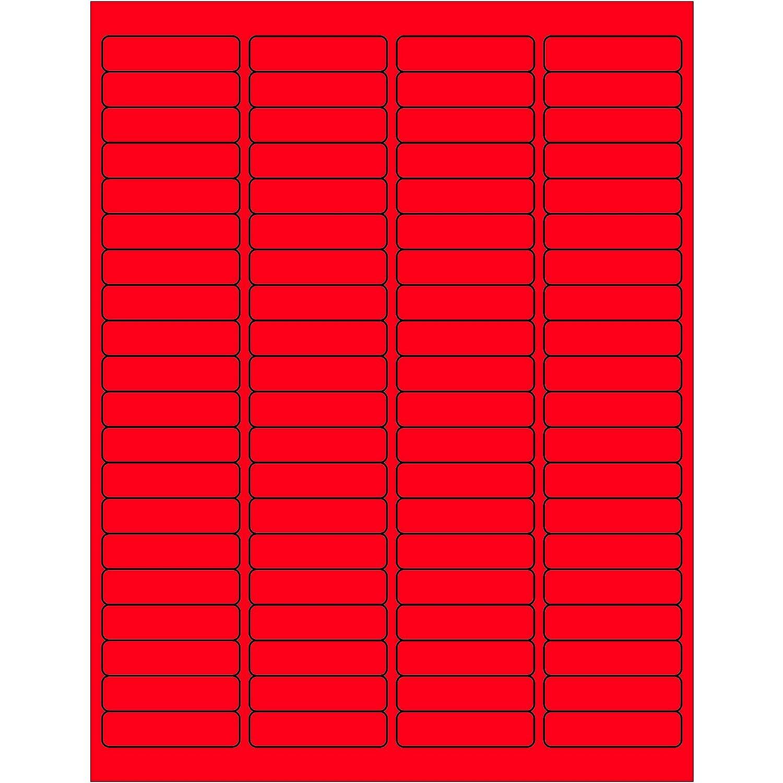 8000//Case 1 x 1 White Tape Logic Weather-Resistant Laser Labels