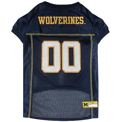 Amazon.com   University of Michigan Mesh Football Jersey   Sports ... ff9d19c07