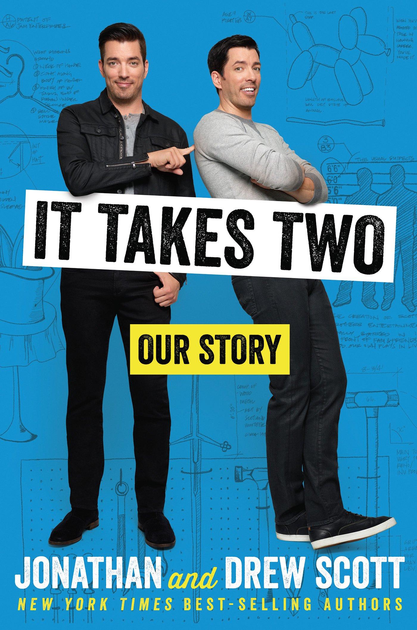 It Takes Two Our Story Jonathan Scott Drew 9781328771476 Amazon Books