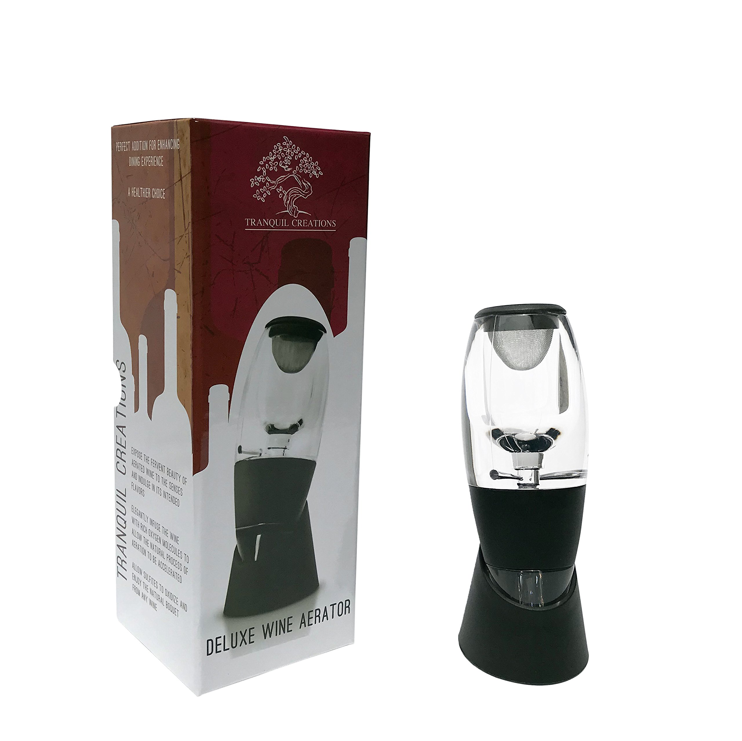 Wine Aerator/Decanter | Allows Wine to Infuse with Oxygen from the Bottle to the Glass