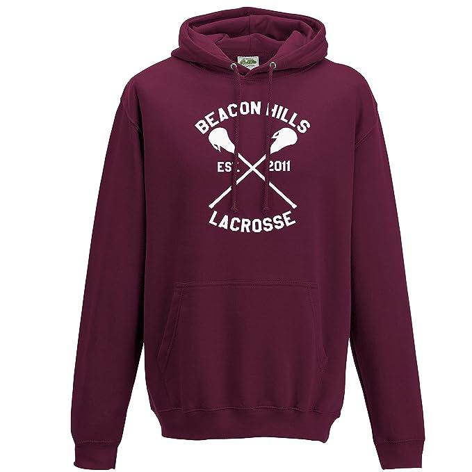 Beacon Hills - Sudadera con capucha, diseño de lacrosse, Stilinski, todas las tallas para adultos y niños: Amazon.es: Ropa y accesorios