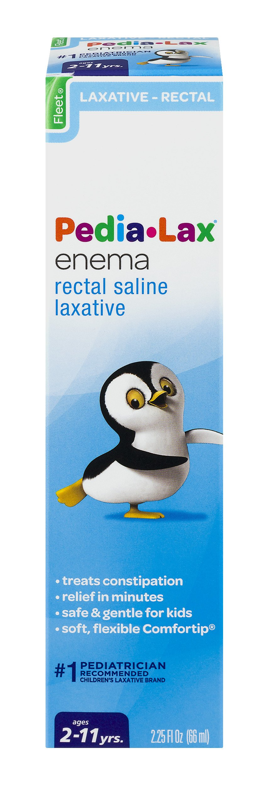 Pedia-Lax Rectal Saline Laxative Enema | Treats