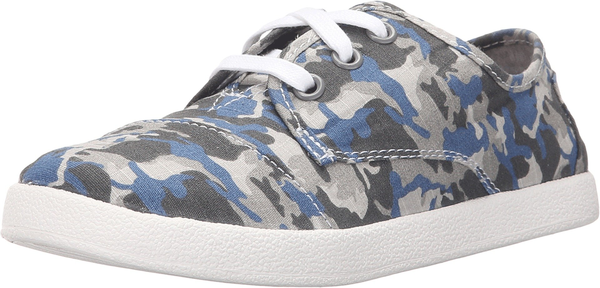 TOMS Kids Unisex Paseo Sneaker (Little Kid/Big Kid) Camo Cotton Ripstop 2 M US Little Kid