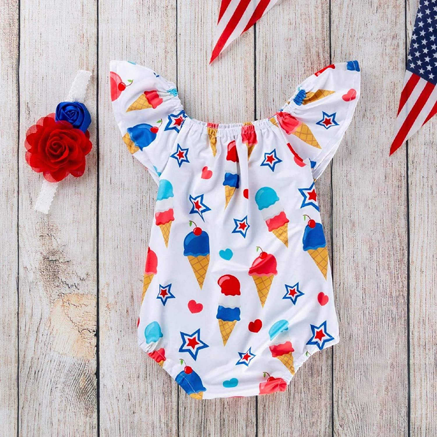 baskuwish Cute Toddler Kids Baby Girl Clothes Sister Match Outfits Big Sister Hooded Sweatshirt Little Sister Flowers Romper