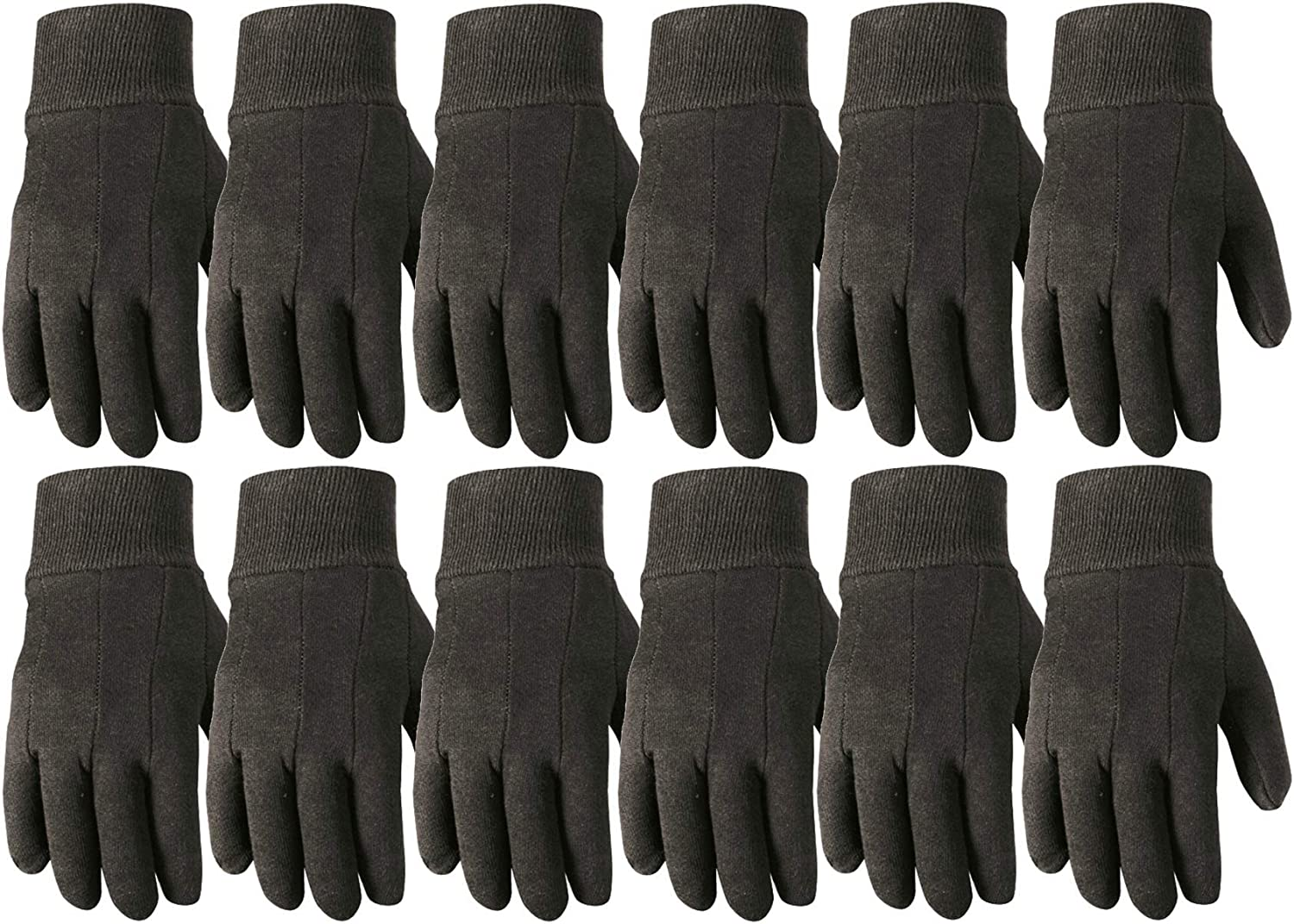 MENS LEATHER WORK GLOVES LEATHER PALM WORK GLOVES 12 PK LARGE