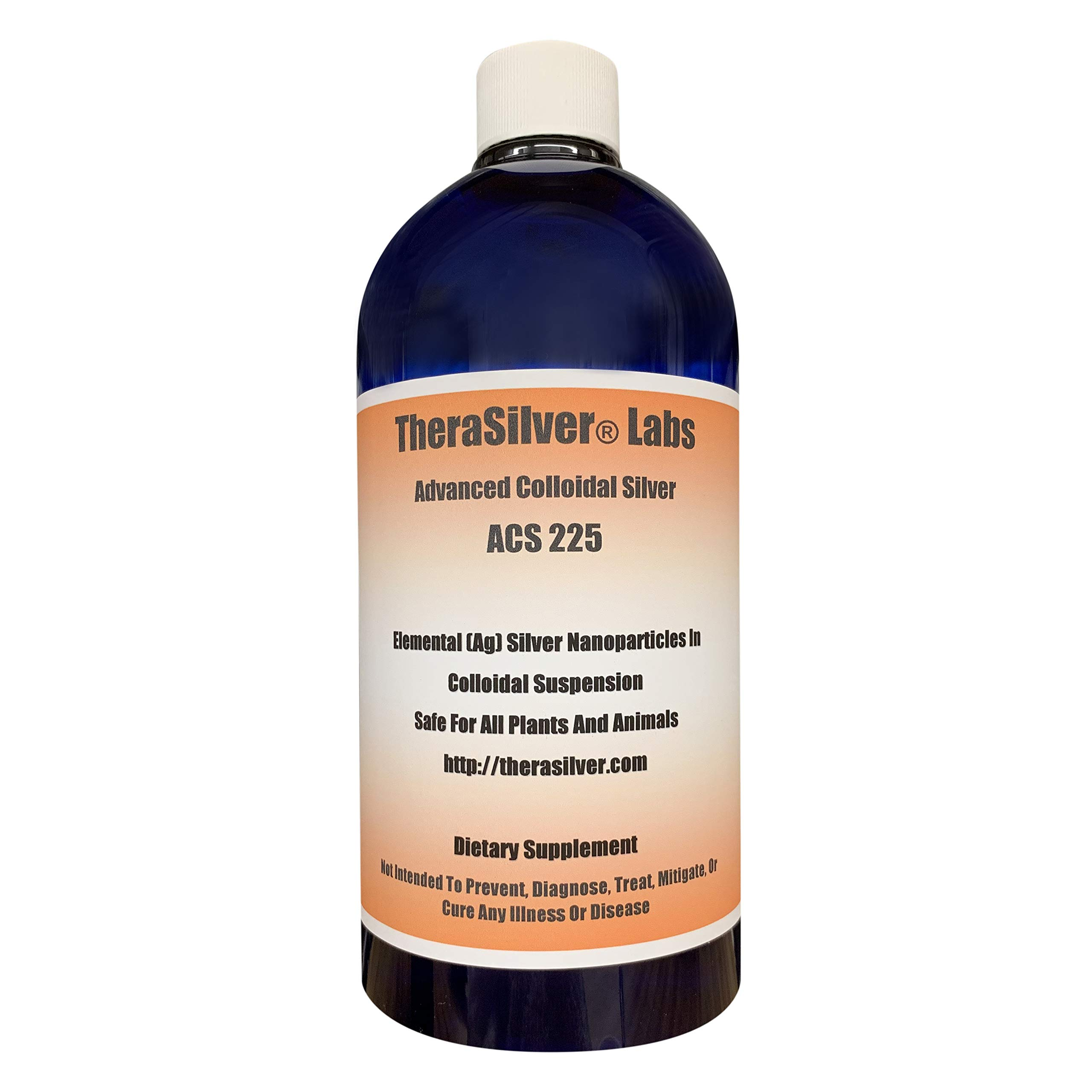 TheraSilver Labs Advanced Colloidal Silver 225 PPM by THERASILVER