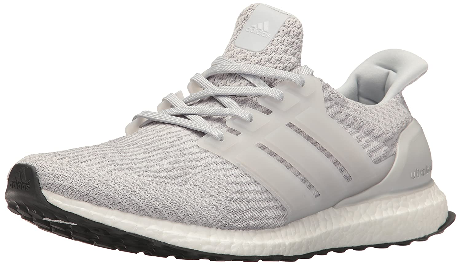 adidas Performance Men's Ultra Boost M Running Shoe B01H643YX2 8 D(M) US|Clear/Grey/Clear/Grey/Mid Grey