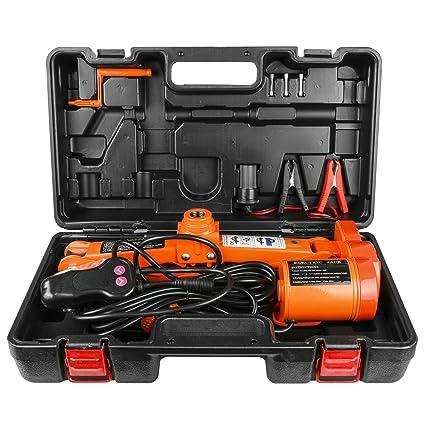 12v Dc 3 Ton Scissor Jack Auto Lift Electric Jack Car Repair Tool