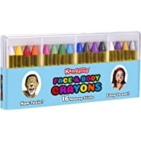 16-Count Kangaroo Face Paint and Body Crayons
